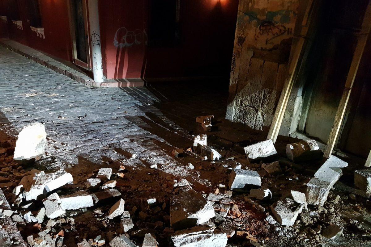 10 imágenes que dejó el temblor