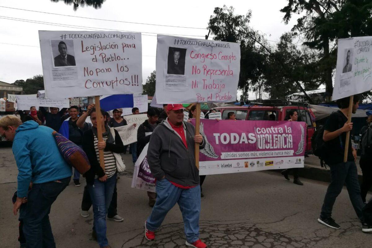 """<span class=""""hot"""">La voz de impacto <i class=""""fa fa-bolt""""></i></span> Cuatro condiciones para participar en la marcha del Cunoc"""
