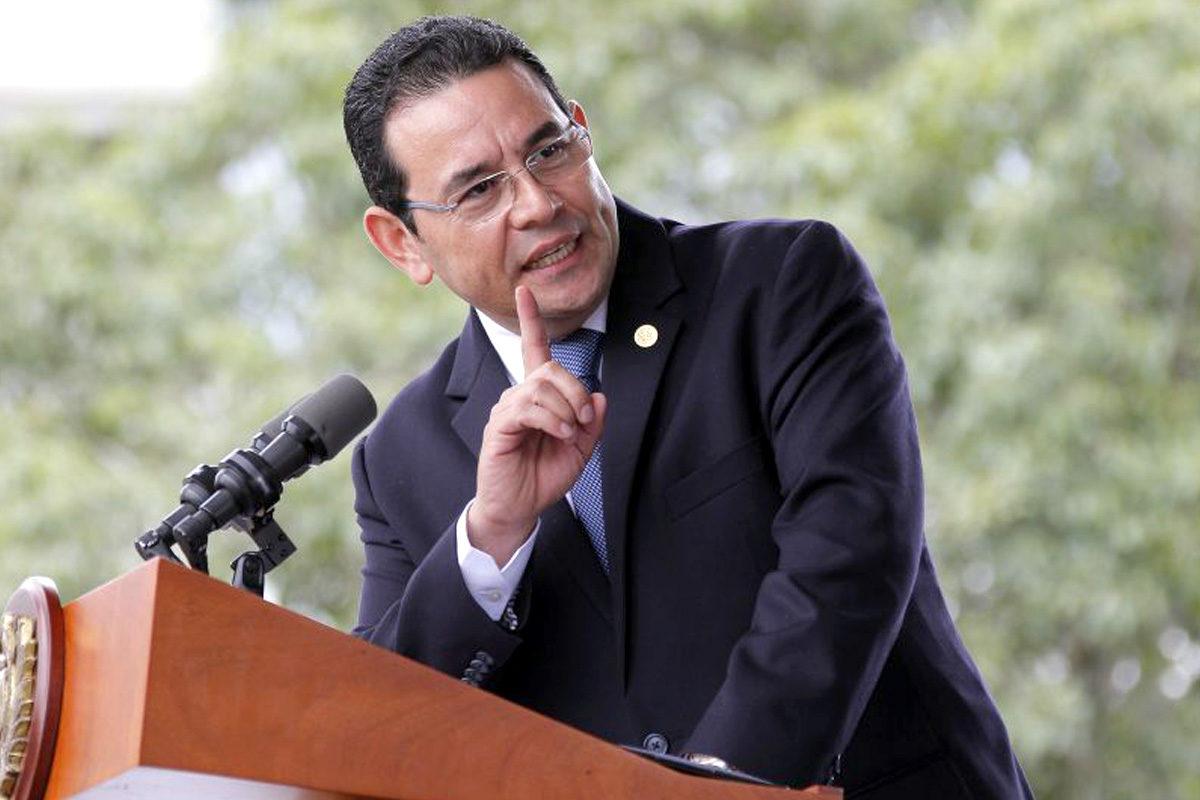 Continúa trámite de antejuicio contra el presidente Jimmy Morales