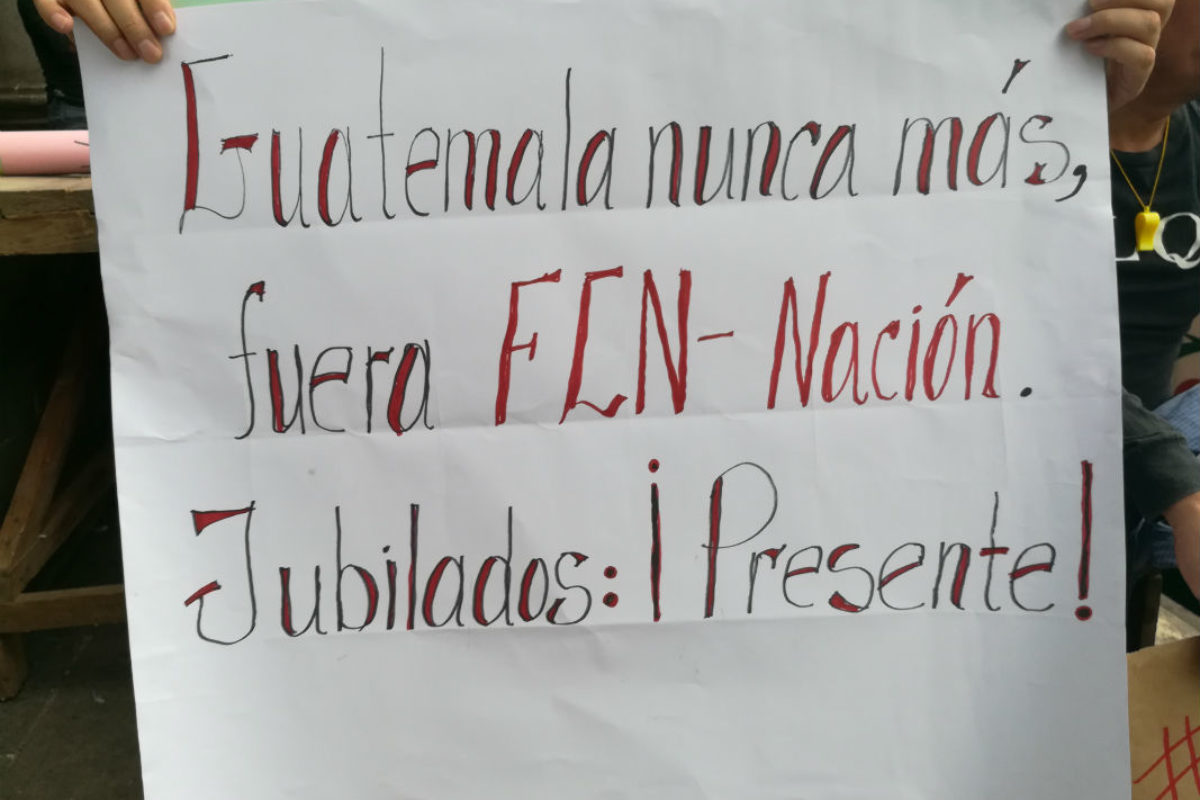 Los mensajes de la protesta