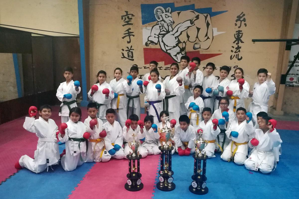 Se preparan para la 9ª. Copa Xelafer 2017 de karate do