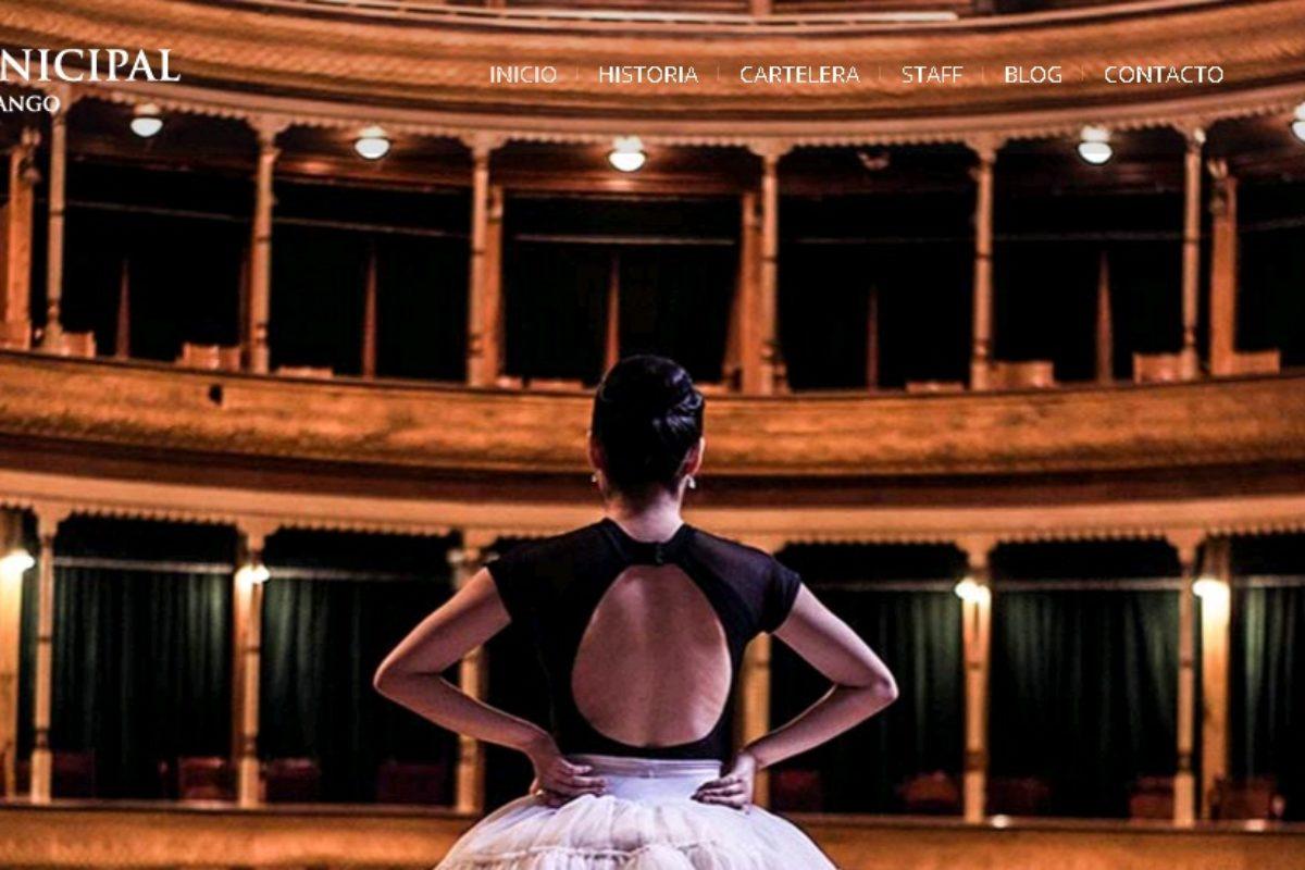 Lanzan página web y redes sociales del Teatro Municipal