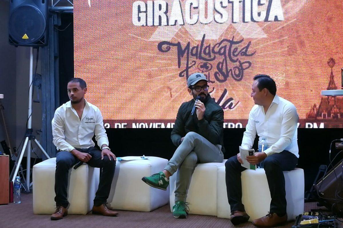 Las 8 cosas que debes saber si asistirás al concierto acústico de Malacates