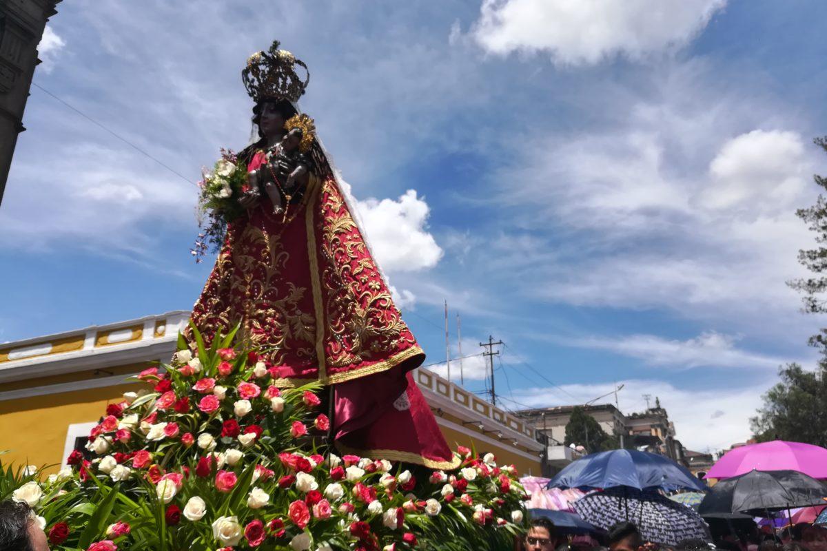 Fervor por la patrona de Quetzaltenango