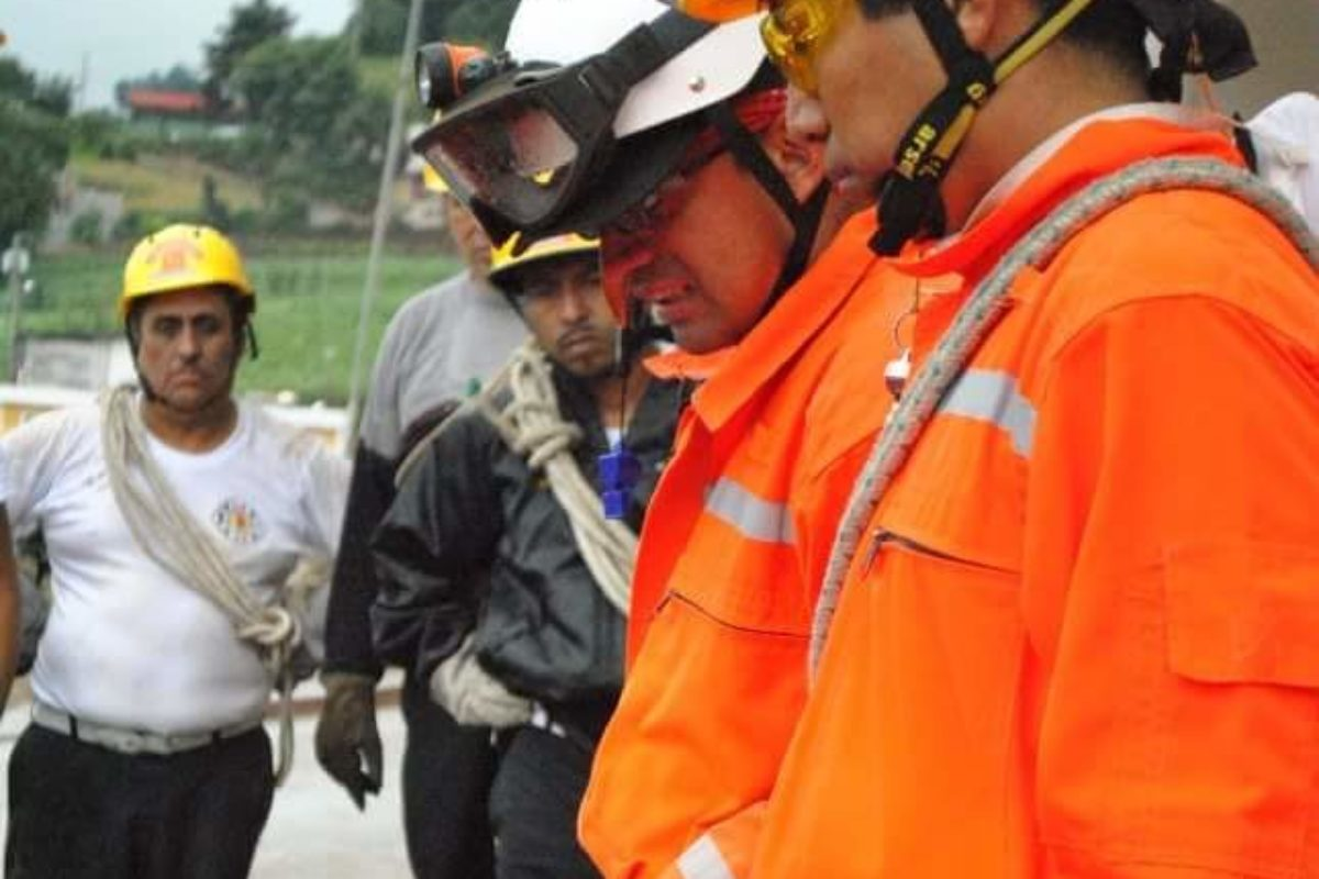 Ciro Camey: bombero ejemplar