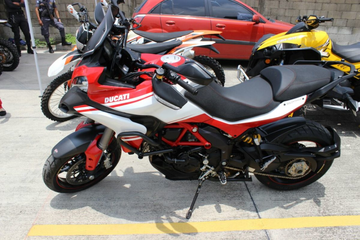 Motocicleta relacionada con Juan Carlos Monzón está valorada en US$ 36,000