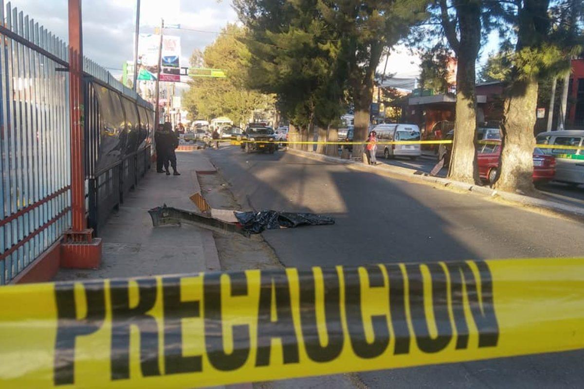 Identifican vehículo que atropelló a mujer