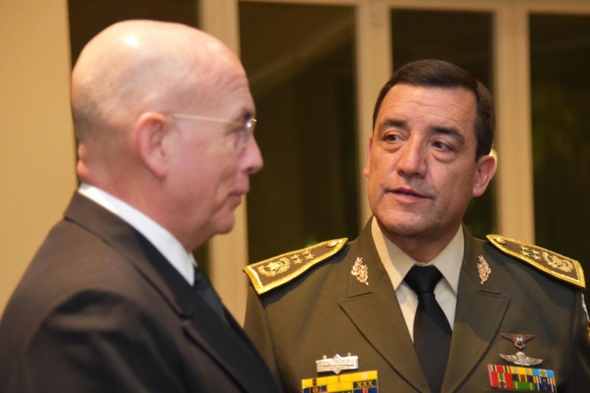 Mansilla fue ministro de la Defensa de tres presidentes
