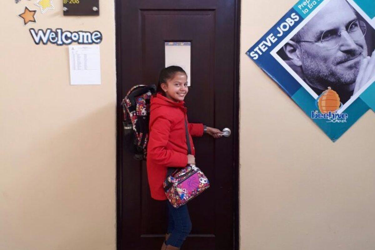 Así fue el primer día de clases de la Niña Quetzaltenango
