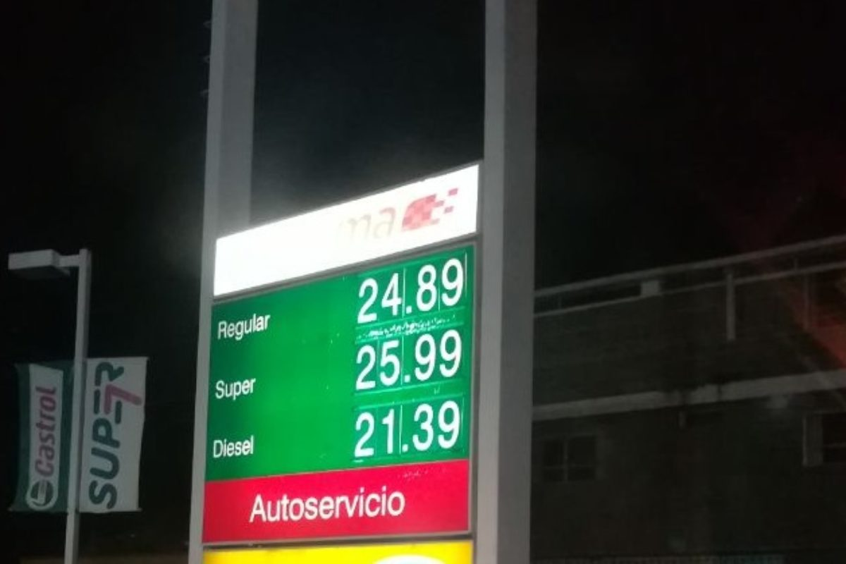 Se reporta nueva alza en combustible