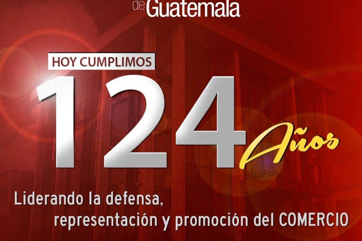 La Cámara de Comercio de Guatemala está de aniversario