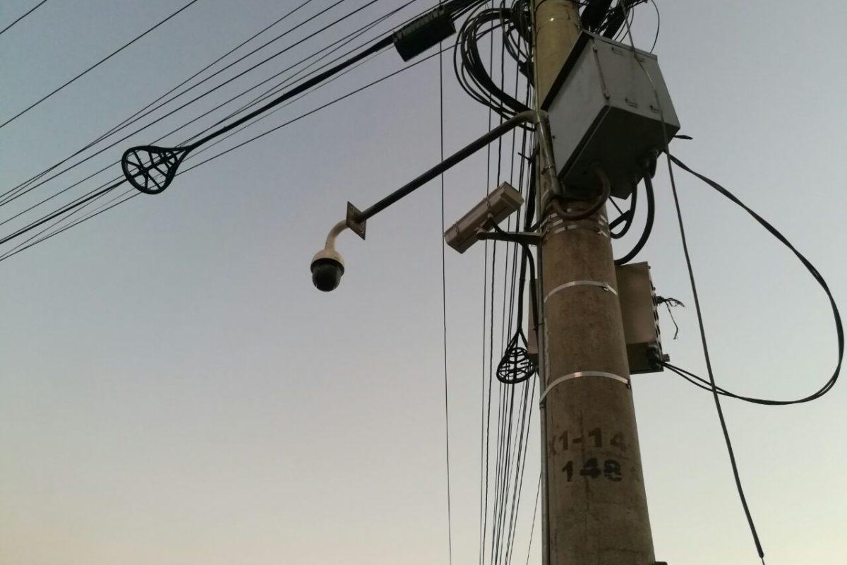 Instalan más cámaras en Xela