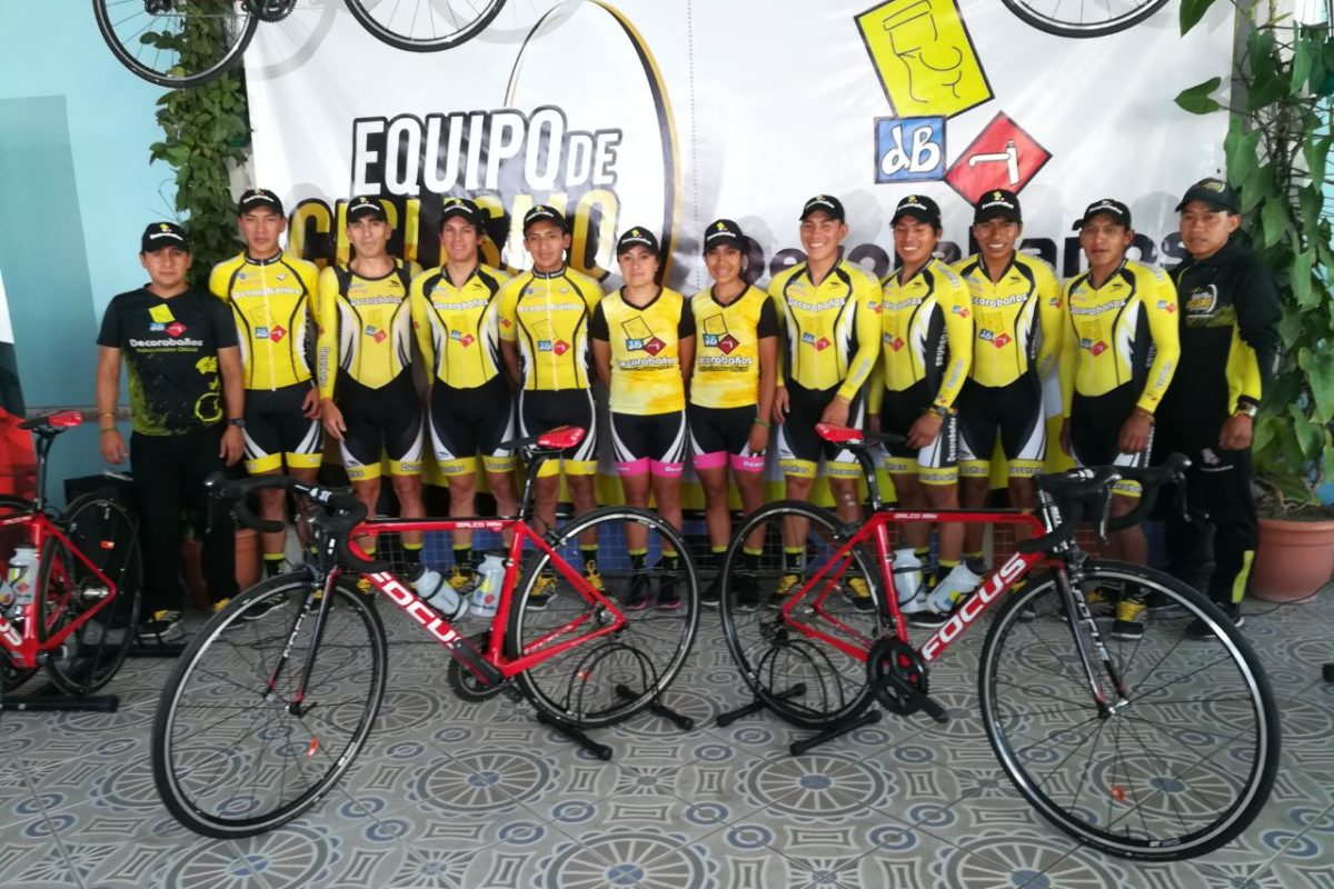 Fortalecen equipo de ciclismo altense