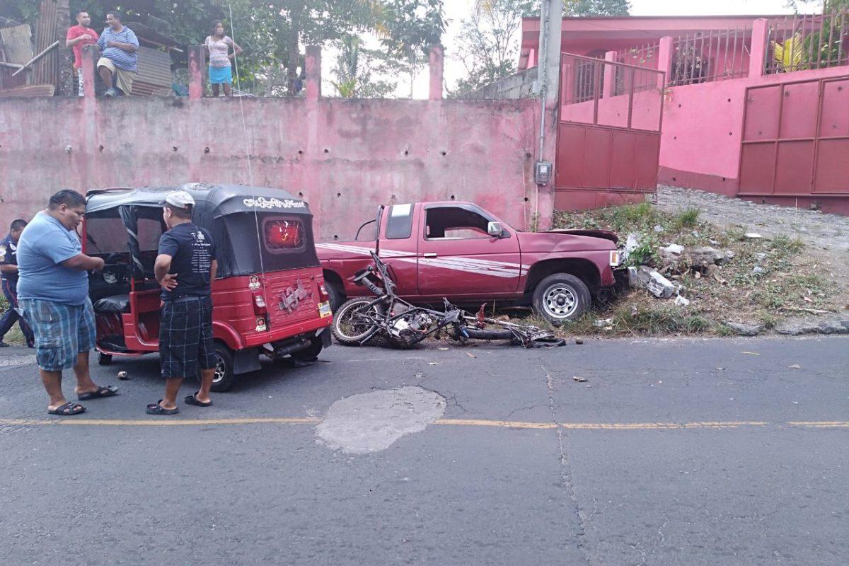 Fotógrafo muere luego de accidente en carretera entre Flores y Génova