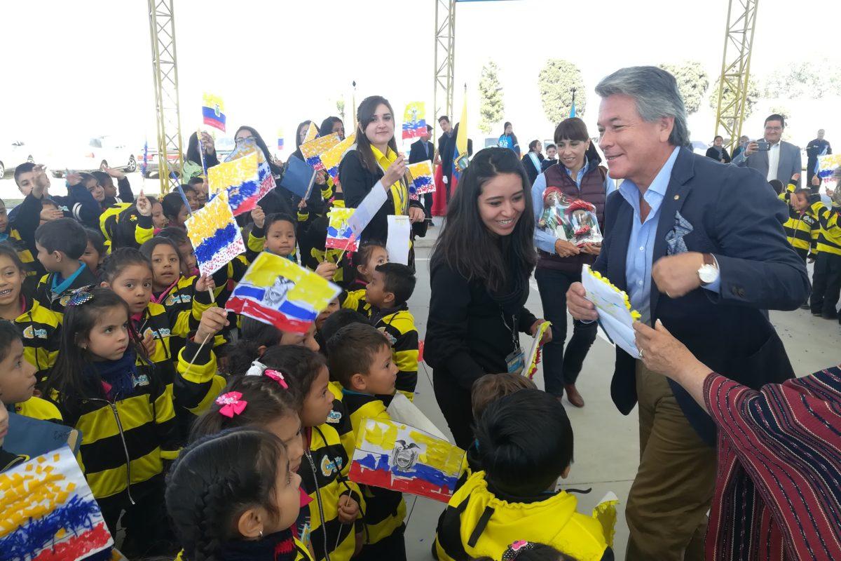 Embajador ecuatoriano impulsa acercamiento