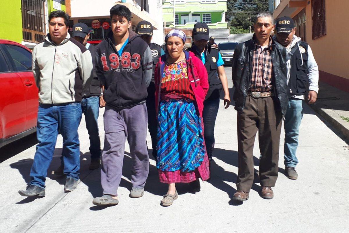 Cuatro capturados por homicidio en grado de tentativa