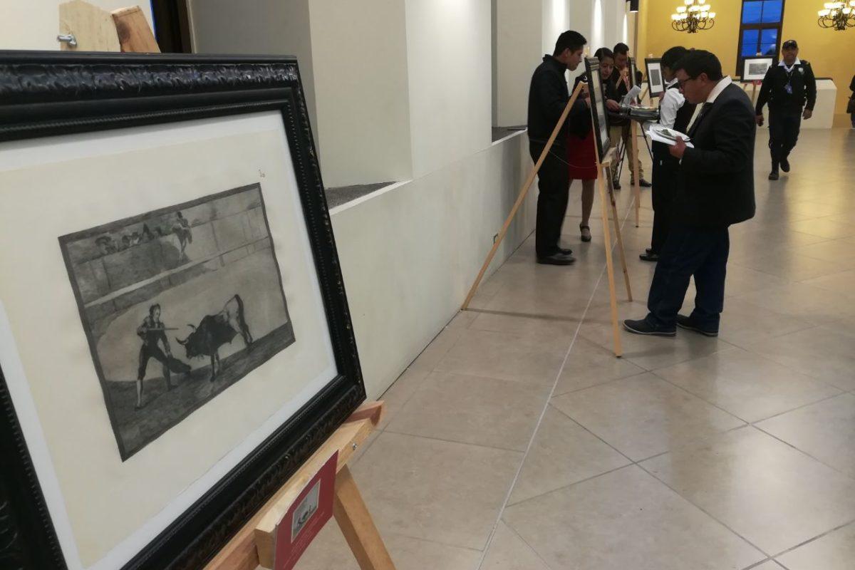 Grabados de Goya se exponen en Xela