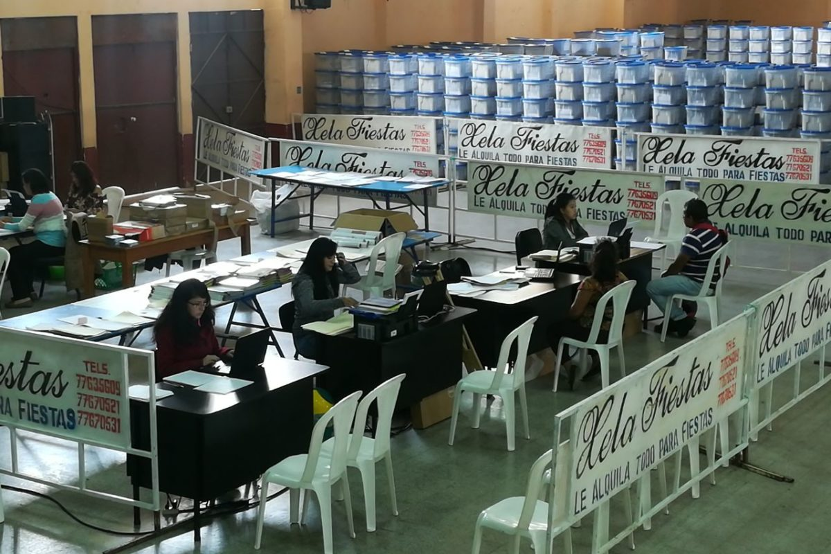Alistan 29 centros de votación