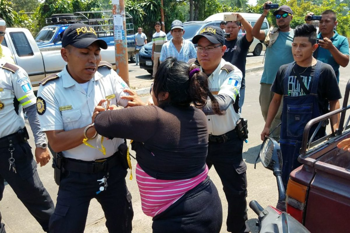 Reordenamiento de vendedores genera disturbios