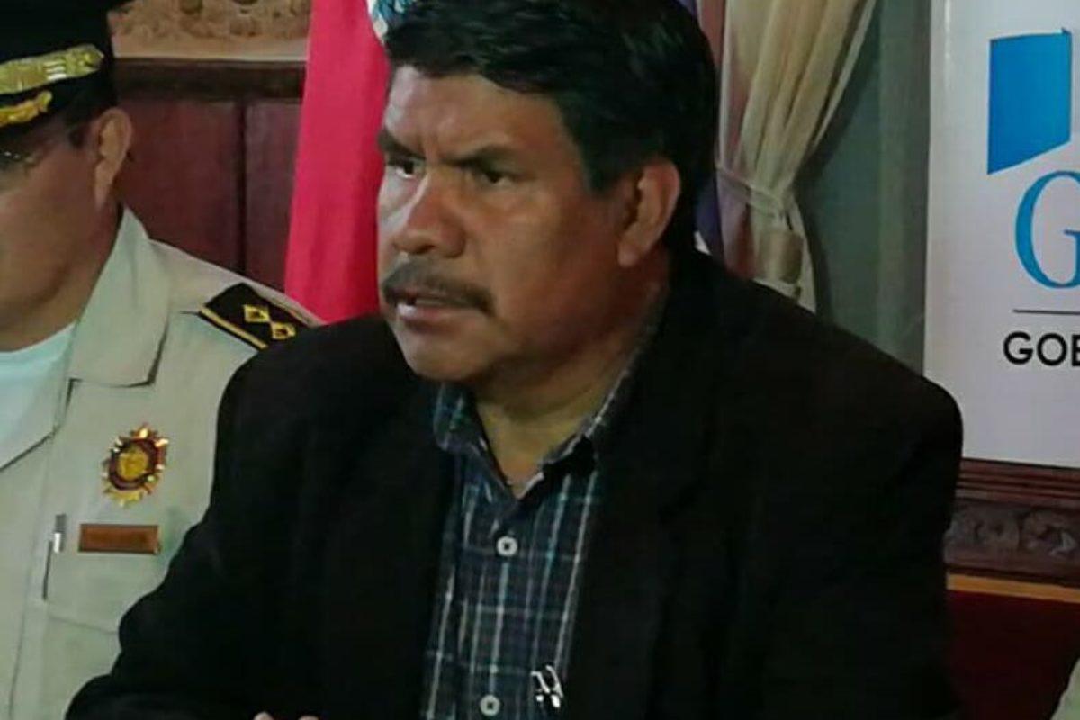 El gobernador de Xela dice tenerle miedo a las redes sociales