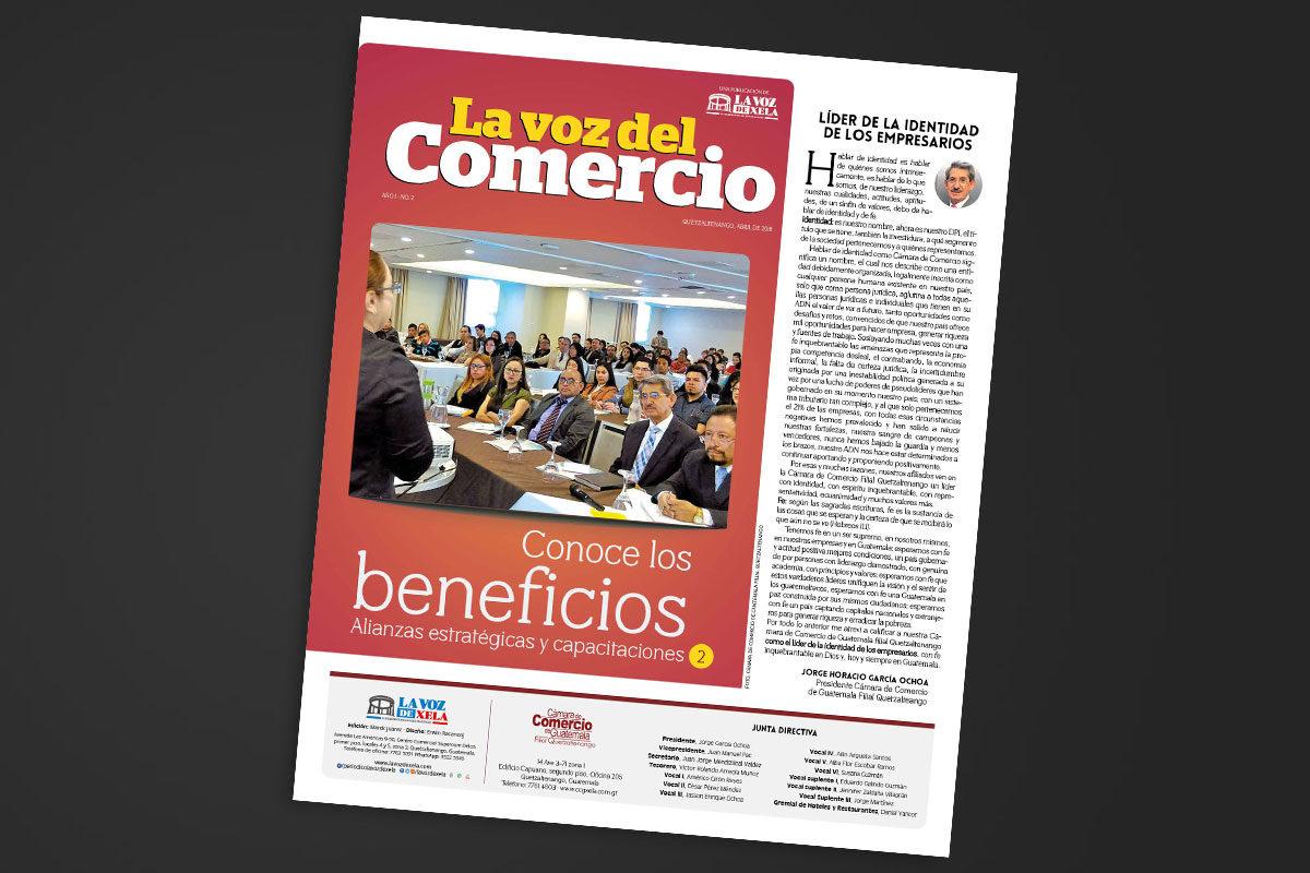 "<span class=""hot"">Tendencia <i class=""fa fa-bolt""></i></span> Segunda edición de La Voz del Comercio"