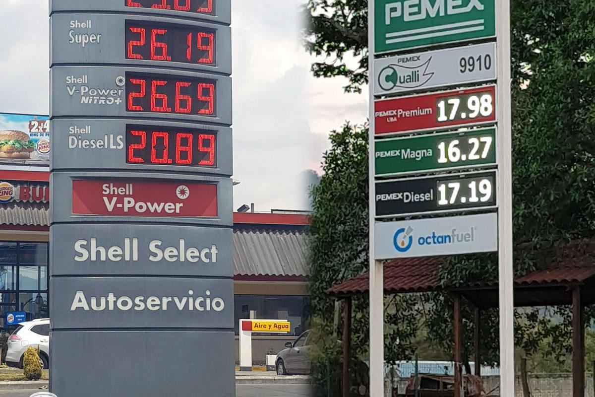 Combustibles ahora más caros en México que en Guatemala