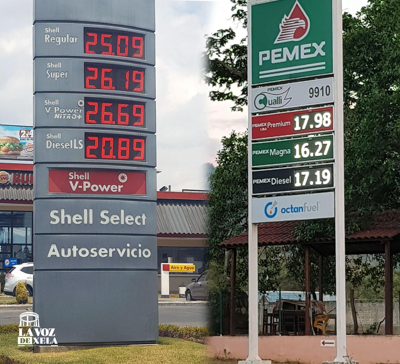 Combustibles entre México y Guatemala