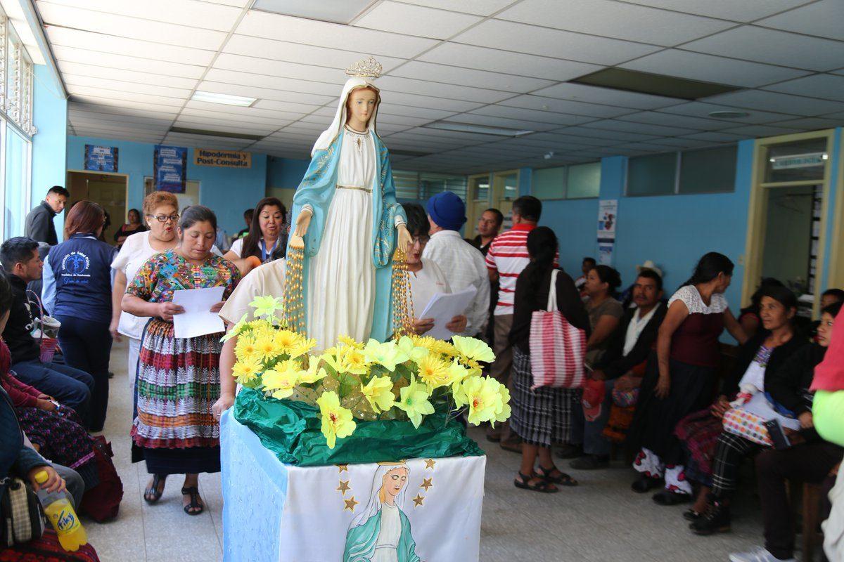 Festejan el mes mariano en el HRO