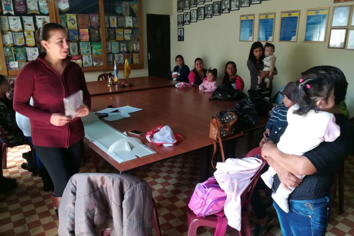 Niños con desnutrición aguda severa se recuperan