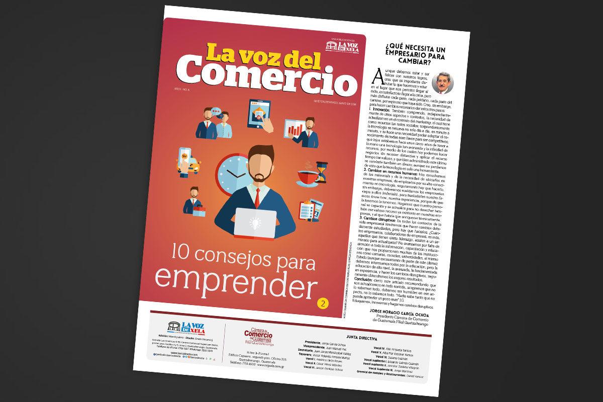 """<span class=""""hot"""">Tendencia <i class=""""fa fa-bolt""""></i></span> Tercera edición de La Voz del Comercio"""