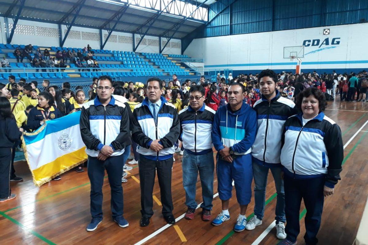 450 estudiantes participan en campeonato deportivo