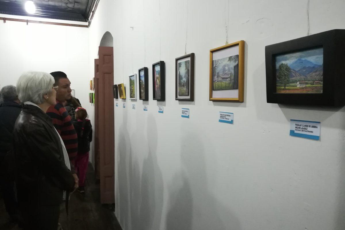 Inauguran exposición de miniaturas