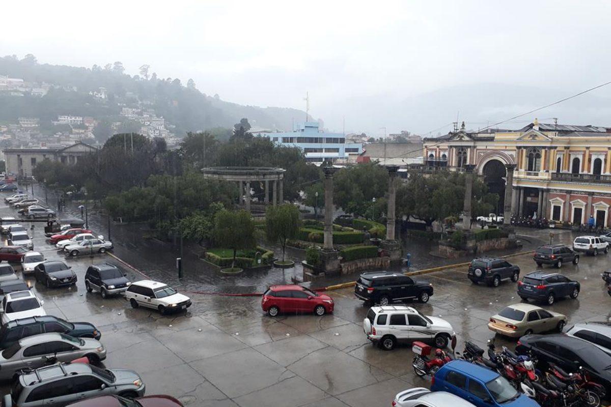 Prevén aumento de lluvia en Quetzaltenango a partir de mañana