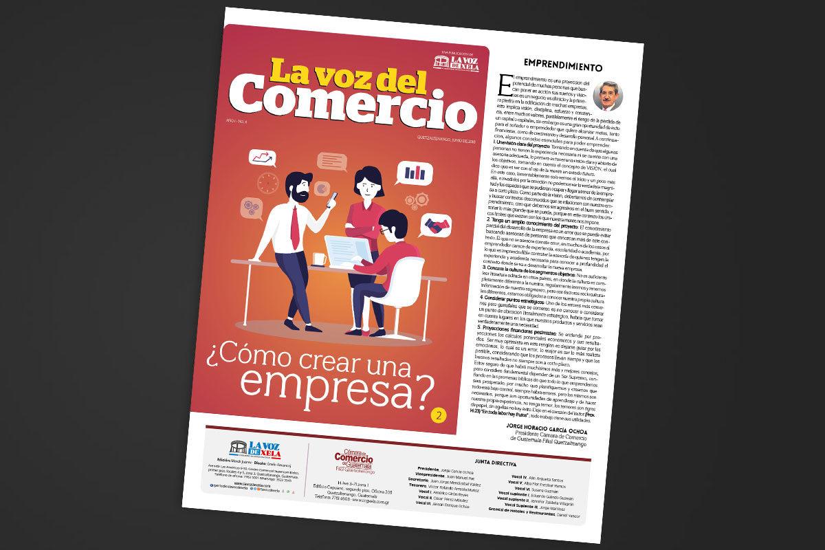 "<span class=""hot"">Tendencia <i class=""fa fa-bolt""></i></span> Cuarta edición de La Voz del Comercio"