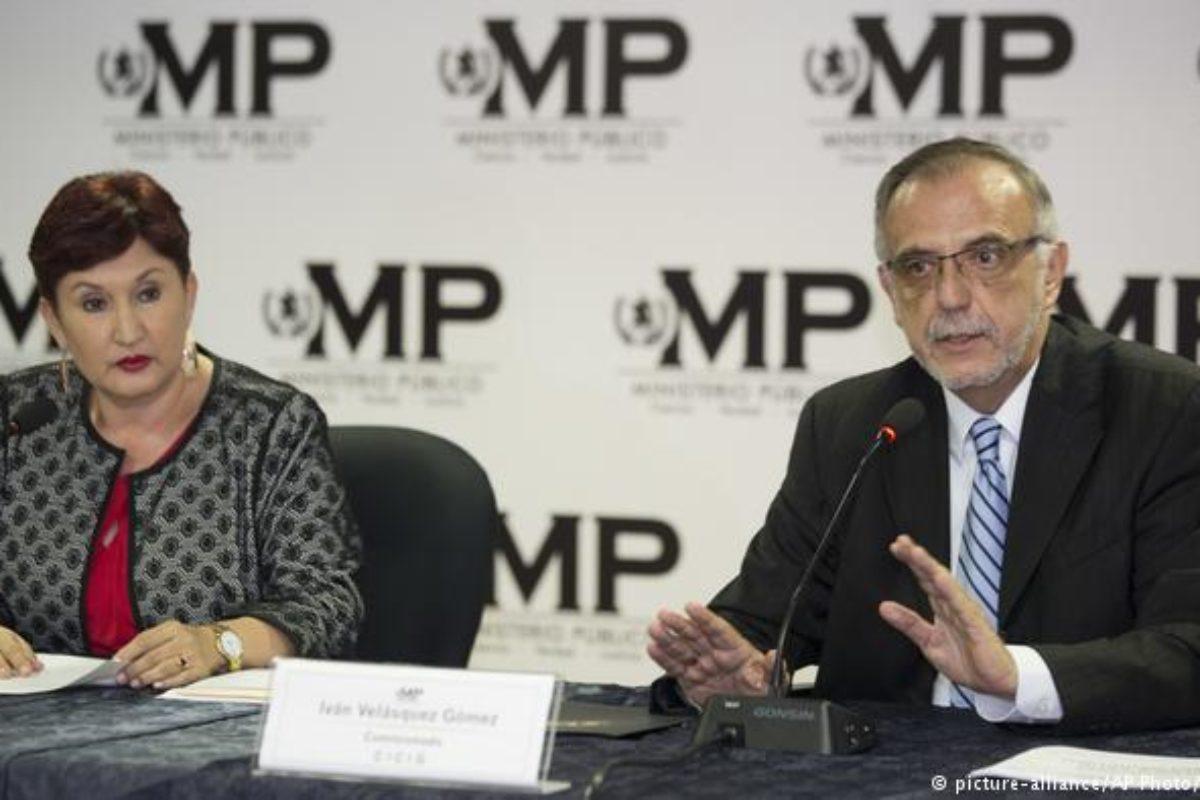 Otorgan a Thelma Aldana e Iván Velásquez el premio Nobel Alternativo