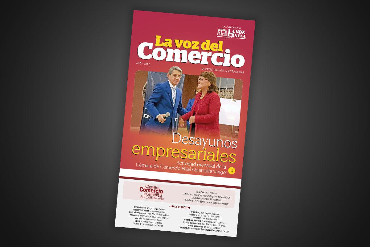 "<span class=""hot"">Tendencia <i class=""fa fa-bolt""></i></span> Sexta edición de La Voz del Comercio"