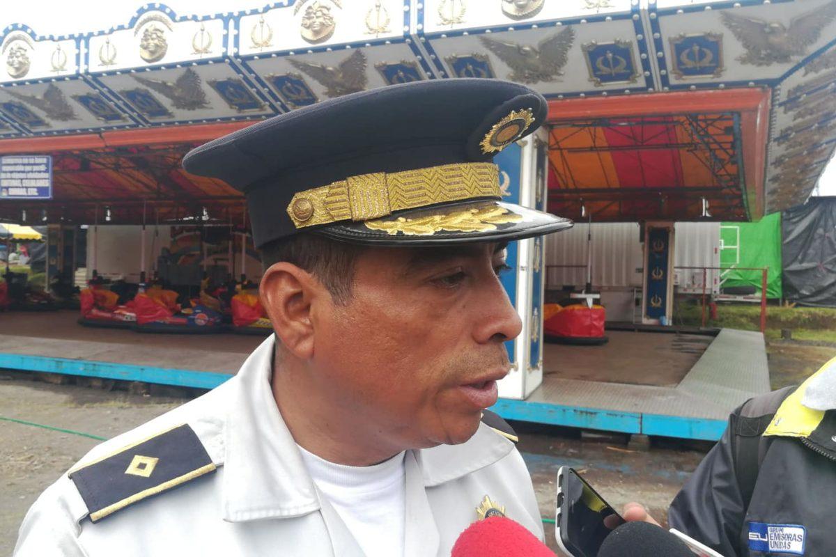 125 policías resguardarán el campo de la feria