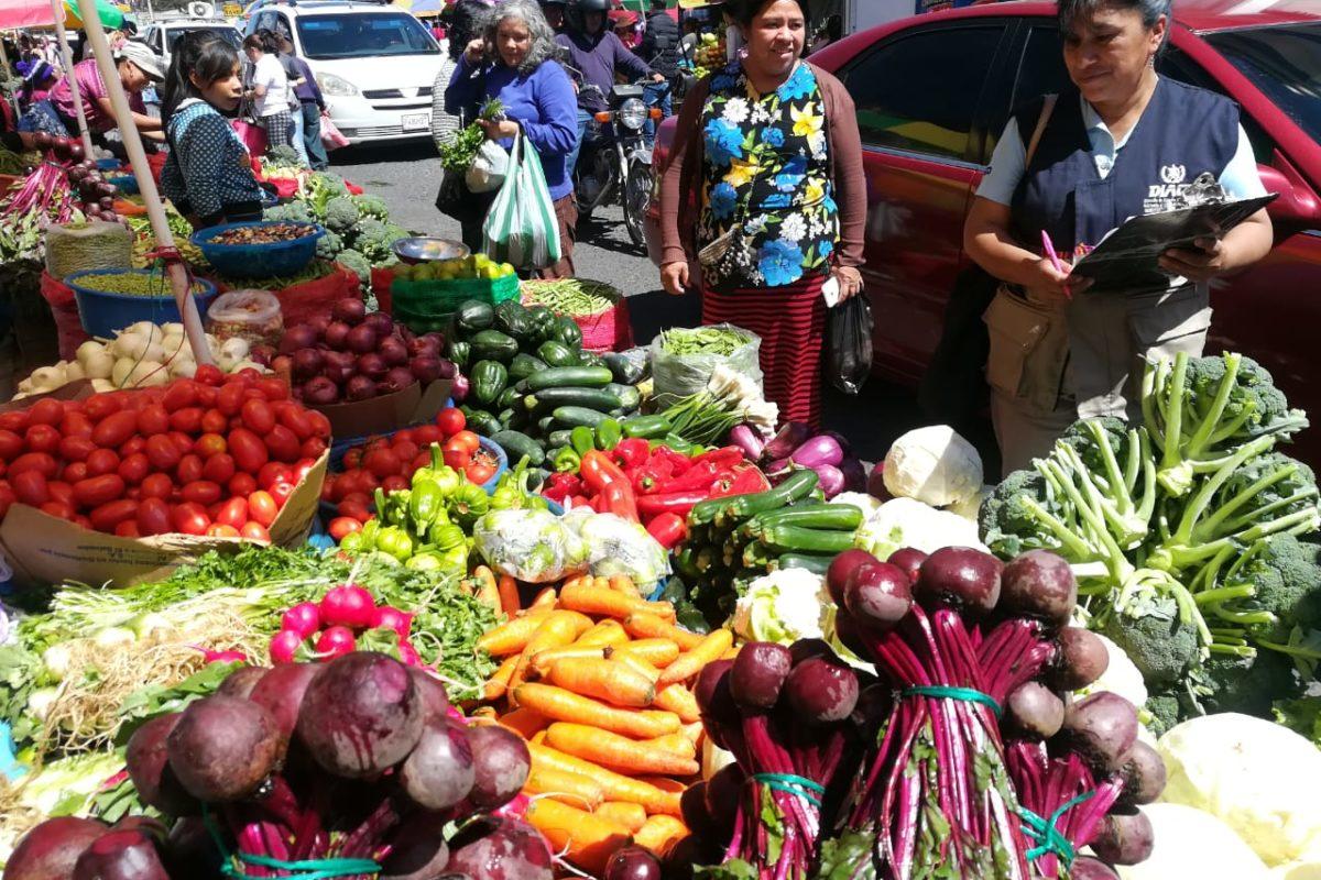 Estos son los precios de las verduras en los mercados