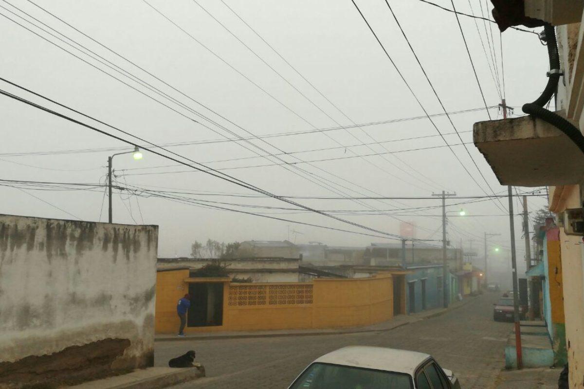 INSIVUMEH prevé heladas para esta semana en Quetzaltenango