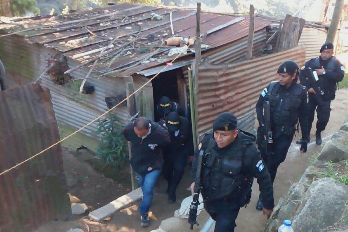 14 capturados estarían vinculados a extorsiones en el occidente del país