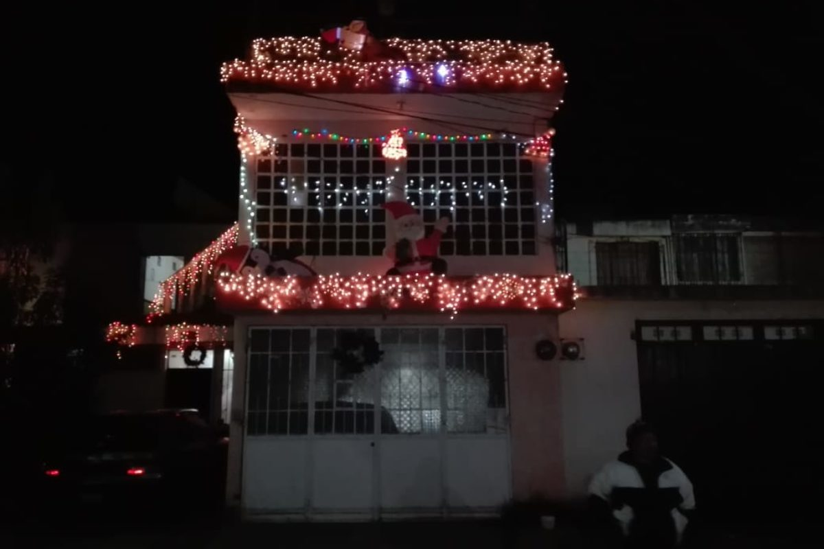 Vecinos premian el espíritu navideño
