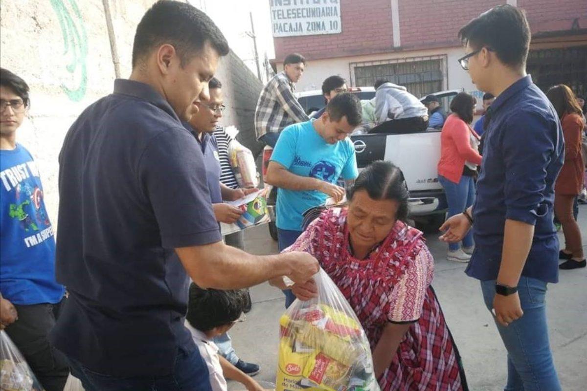 Comparten con familias de escasos recursos