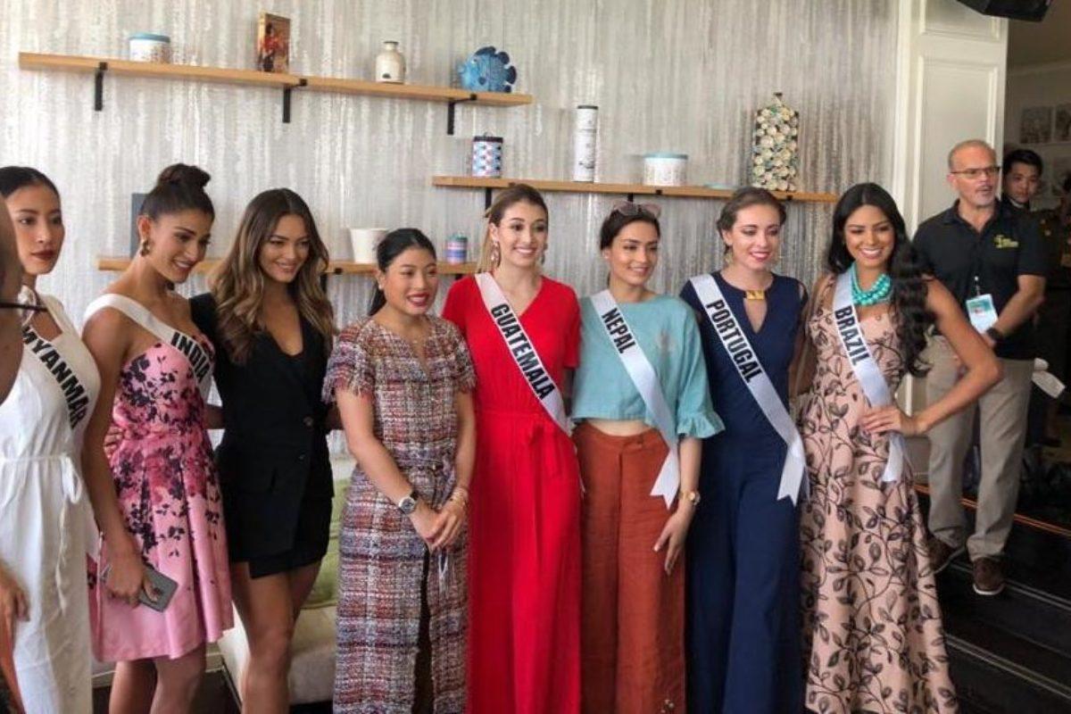 Se preparan para la final de Miss Universo 2018