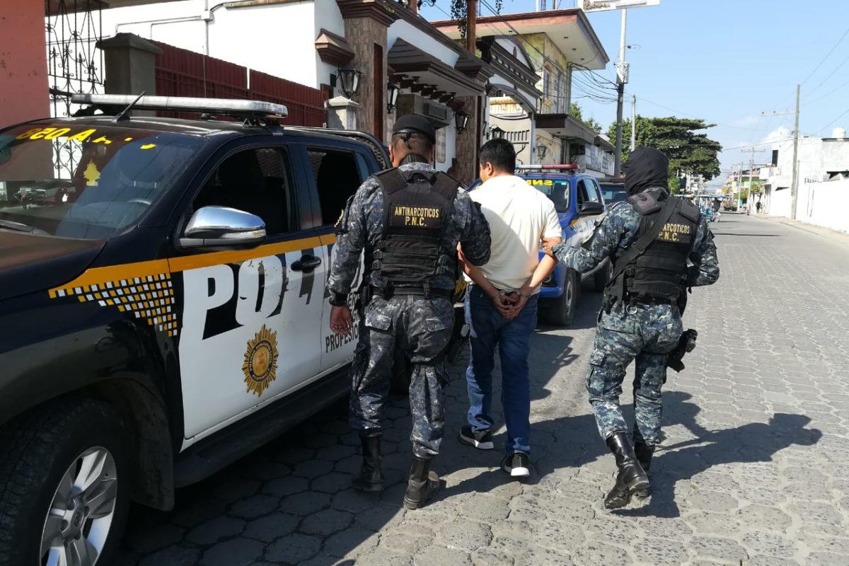 Capturan en Quetzaltenango y otros departamentos a implicados en lavado de dinero
