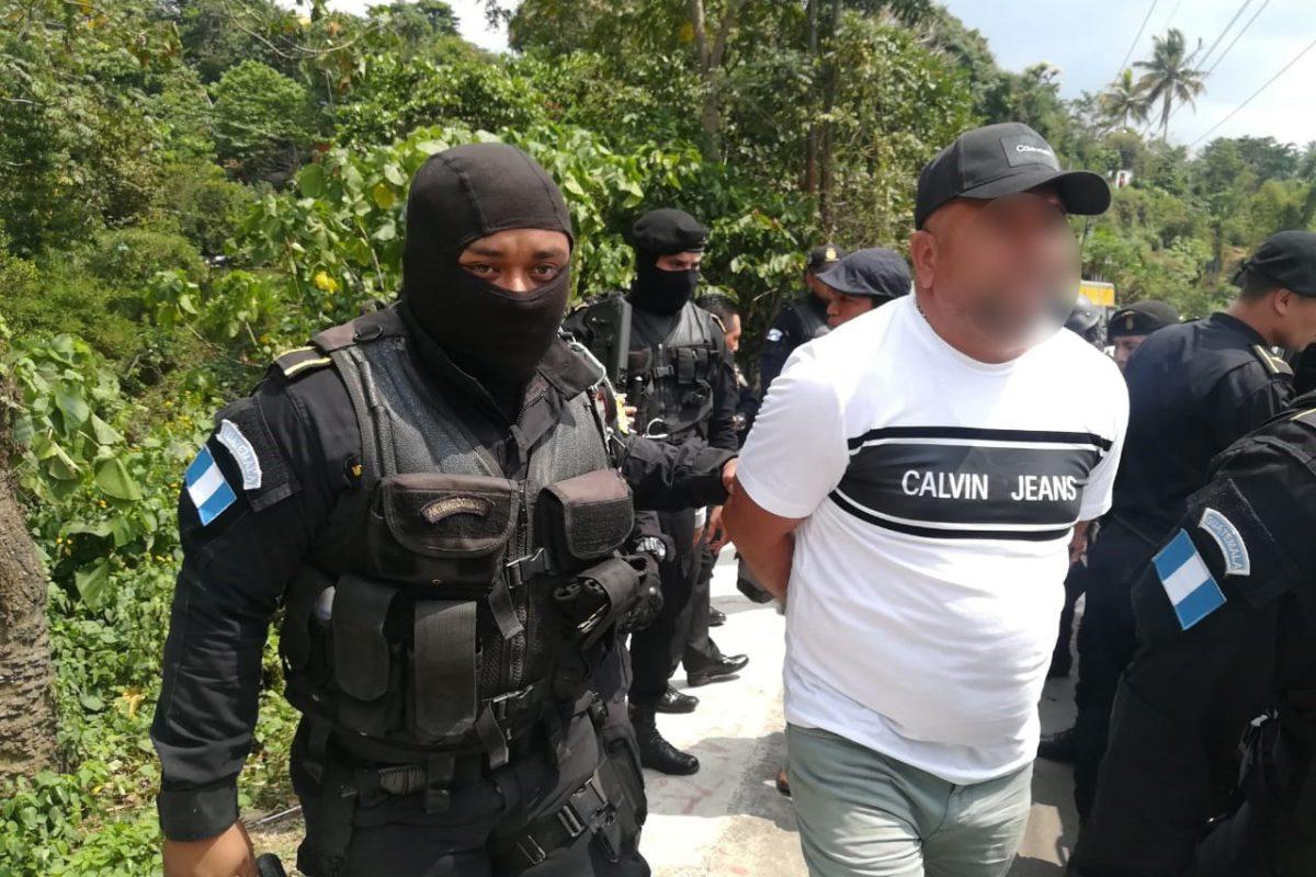 Capturan a narco en Quetzaltenango