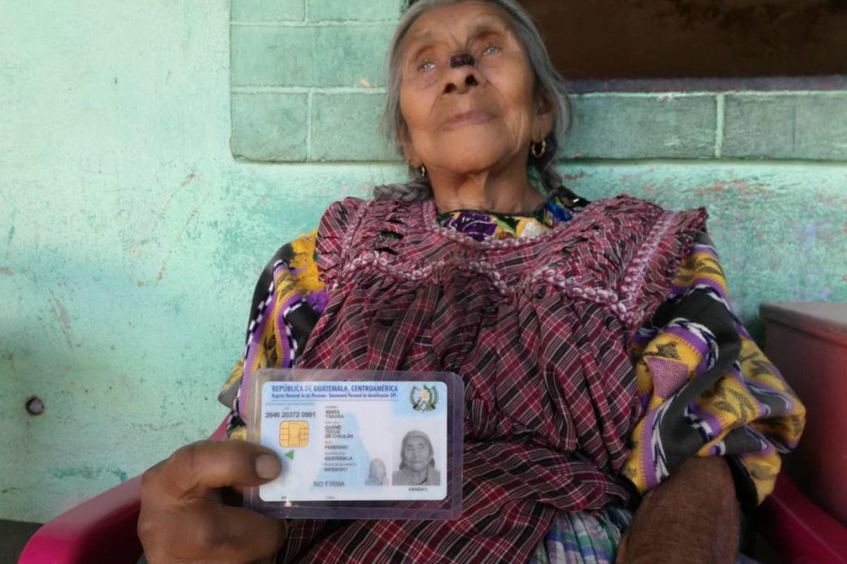 Doña Chagüita: «Le agradezco a Dios por seguirme dando vida»