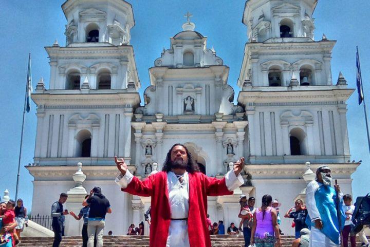 El quetzalteco que representa a Jesús