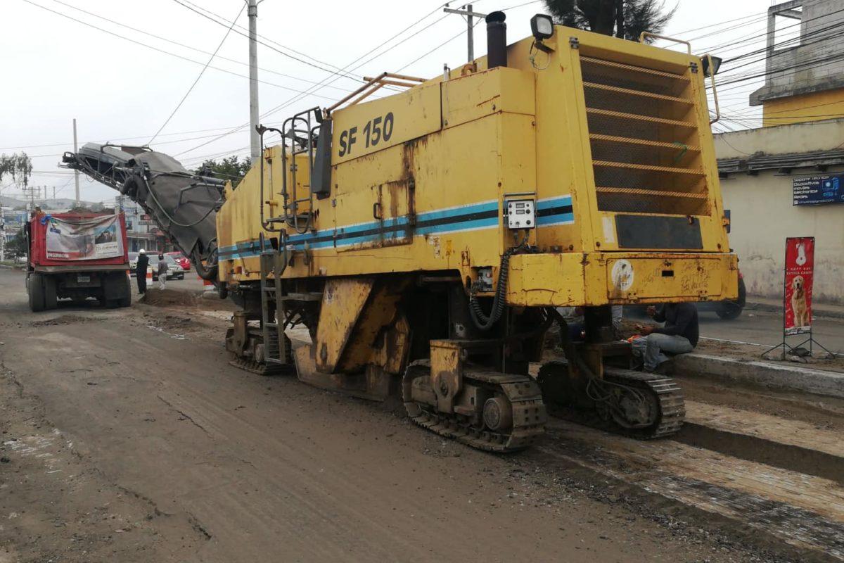 H3 Guatemala: la empresa inexperta que recapea las calles en Xela