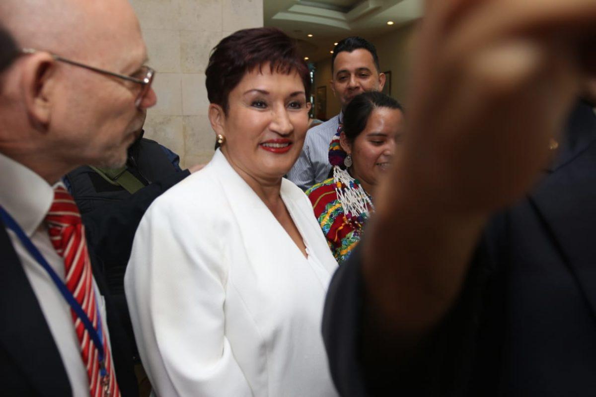 Thelma Aldana asegura que recurrirán hasta la CC para lograr su inscripción