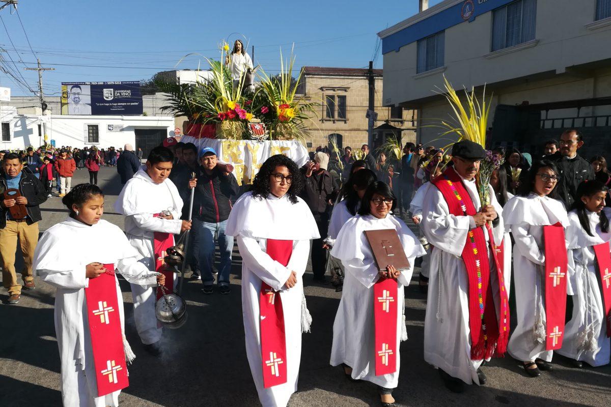 Domingo de Ramos marca inicio de Semana Santa